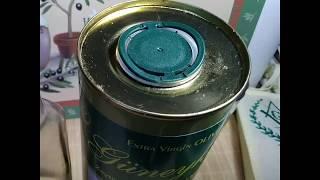 как  открыть жестяную банку с оливковым маслом