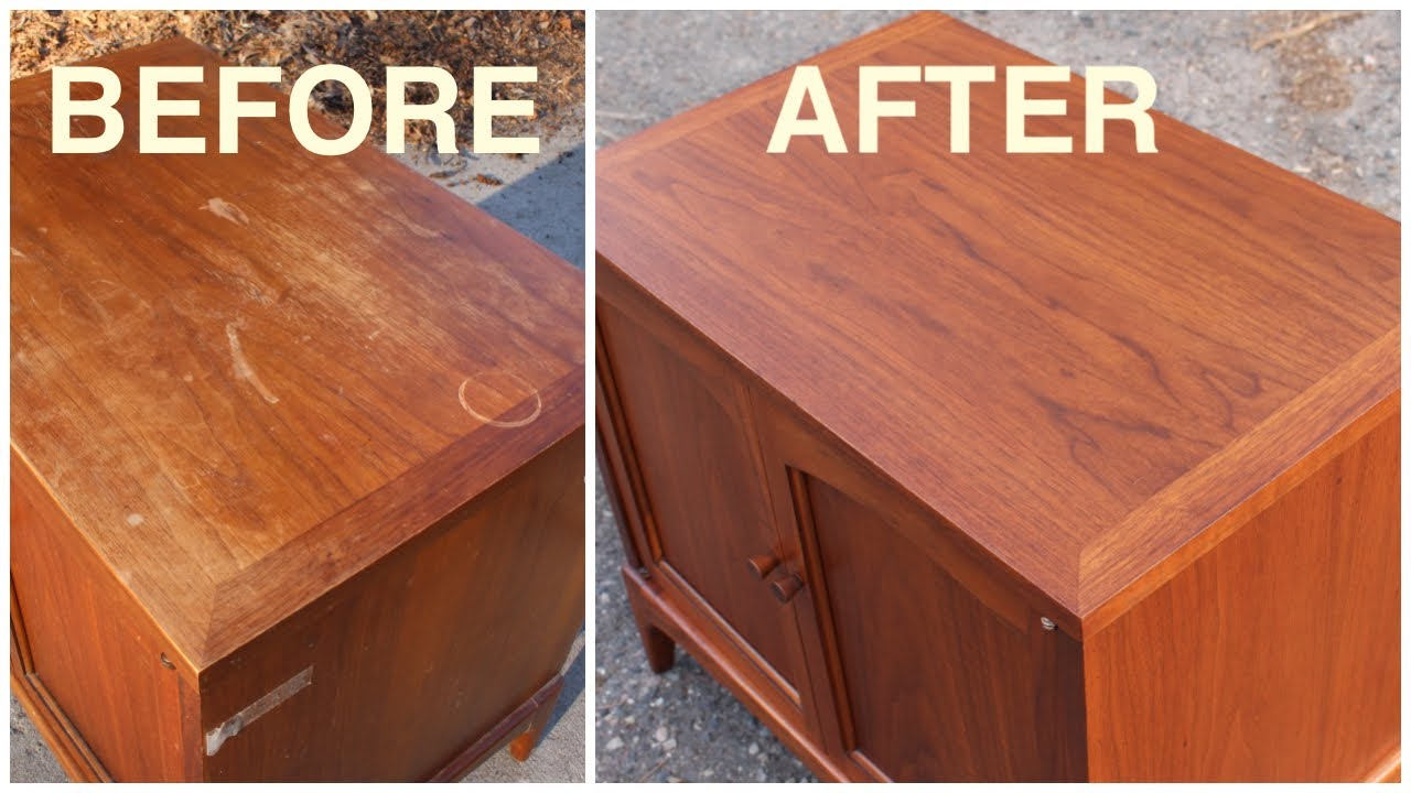 Thrift Rescue 8 Mid Century Furniture Restoration You
