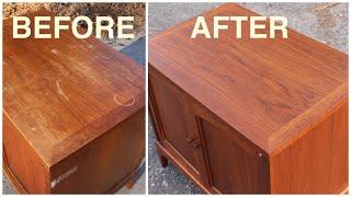 Thrift Store Rescue #8 / Mid Century Furniture Restoration