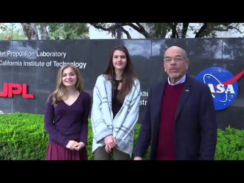Young Women Interview JPL Scientists - The Planetary Post with Robert Picardo