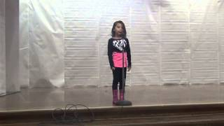 All Things Bright And Beautiful - a poem recited by 6 y/o Marivi at their school fair (11-19-2013)