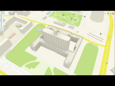 3D-карты с моделями от 2ГИС