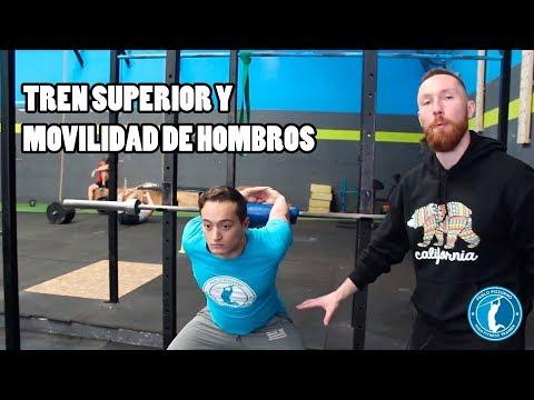 TREN SUPERIOR Y MOVILIDAD DE HOMBROS