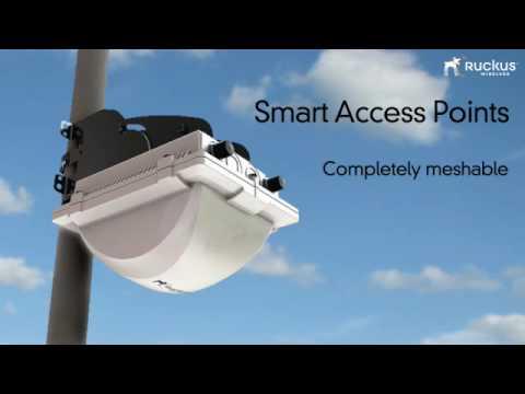 Vidéo de présentation  longue en anglais Ruckus Wireless Connect Data - WiFi