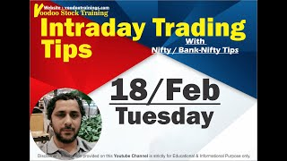 Intraday Jackpot for 18 Feb | Free Intraday Trading Tips | Intraday Trading Strategies For Beginners