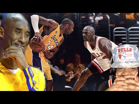 YOU THIEF! NOW I'M MAD!! KOBE BRYANT vs MICHAEL JORDAN IDENTICAL PLAYS REACTION