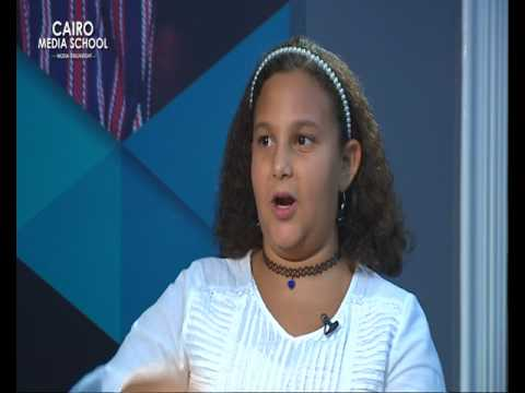 Mariam Yehia - TV Presenting for Kids July workshop