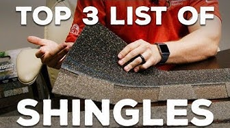"Roofings ""Top 3 Shingles"" and Why We Love Them"