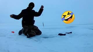 Открытие зимнего сезона 2020 2021 Хорошая рыбалка Рыбалка на озере Улыколь Басановка