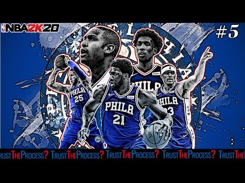 NBA2K20 Philadelphia 76ers MyLeague! - #5 EMBIID POSTERIZER ON KAT!!!!!