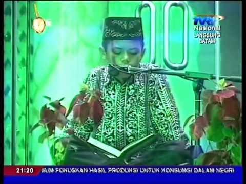 Adnan Tumanggor, Qori Cilik Terbaik 1 MTQ Nasional 25 Tahun 2014 di Batam
