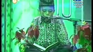 Adnan Tumanggor Qori Terbaik 1 MTQ Nasional XXV 2014, di Batam