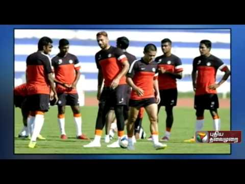 Football World Cup Qualifiers: Indian team practice in Turkmenistan