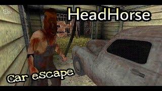 HeadHorse horror game - Car escape Full gameplay