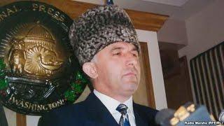 Халкъо хаьржина президент дагалоцуш  (Масхадов Аслан)