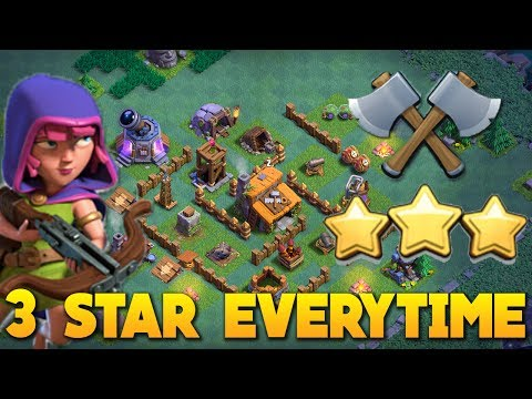 Clash of Clans | BEAT ANY BUILDER BASE with 2 Army Camps - BH2/BH3 3 Star Attack Strategies (Basic)