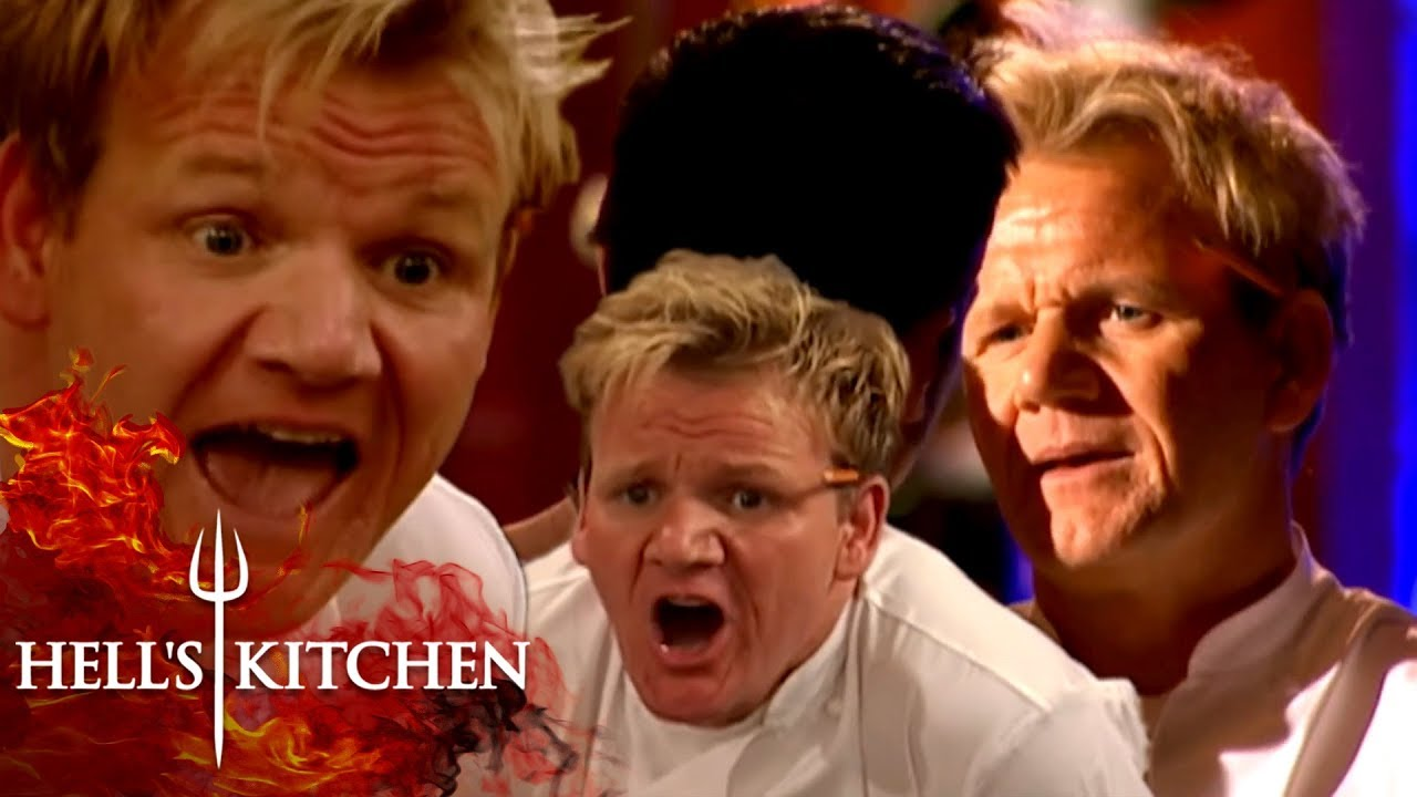The Best Of Gordon Ramsay Hell S Kitchen Part One Youtube