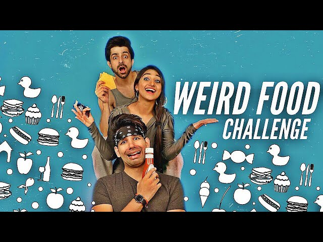 WEIRD FOOD Challenge   Rimorav Vlogs