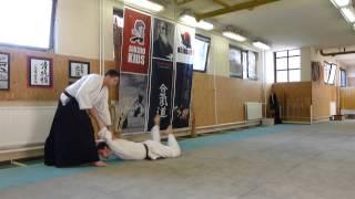 shomen uchi sankyo omote [TUTORIAL] Aikido empty hand basic technique