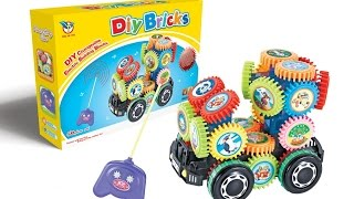 ToyJunction - DIY Bricks Electronic Building Gears Play Sets