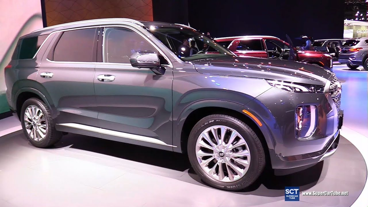 2020 Hyundai Palisade Suv Exterior And Interior Walkaround Debut