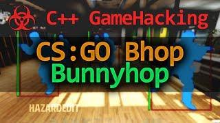 C++ لعبة القرصنة - كيفية جعل Bunnyhop ل CS:GO هاك التعليمي (طلب)