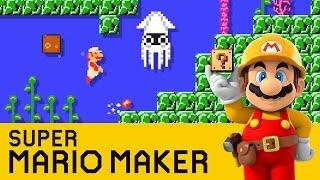 Super Mario Maker - Kraken's Cave