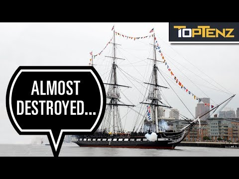 10 Fascinating Facts About The USS Constitution