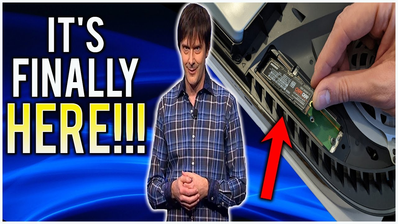 BREAKING PS5 NEWS!!! PS5 Internal SSD Expansion Update IS HERE! But, There's a Catch!