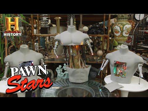 Pawn Stars: Chumlee Has a Lead on Terminator Props (Season 16) | History