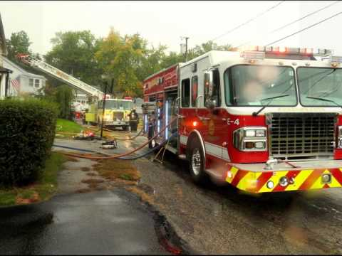 2nd Alarm Structure Fire !!! *Live Radio Traffic & pictures 13 Summer St