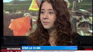 Repeat youtube video Nicole Cherry, star la 14 ani