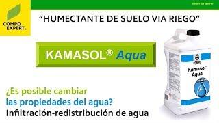 KAMASOL® Aqua - ¿Es posible cambiar las propiedades del agua de riego?