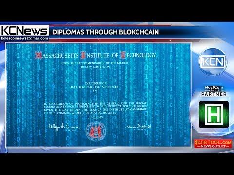 Blockchain based diplomas