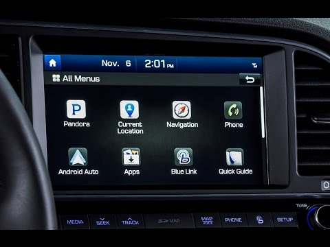2017 Hyundai Blue Link Infotainment Review - DETAILED in 4K UHD!