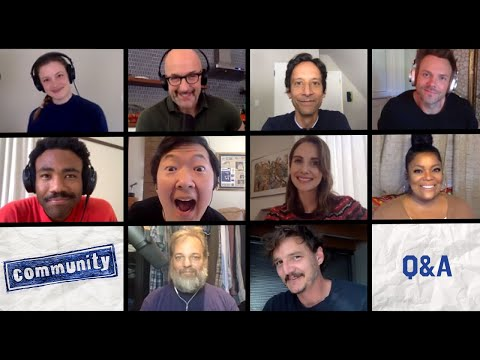 Continue watching! Cast of Community Q&A following Table Read #stayhome #withme