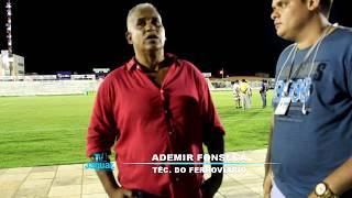 Entrevistas do Jogo Iguatu x Ferroviário