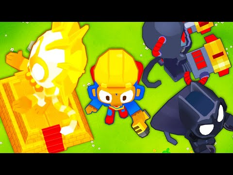 Download The Engineer Monkey Places Towers?! (BTD 6 Mod)