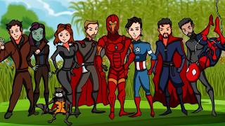 AVENGERS: END GAME PARODY | Based On Fan Theories [Original Animation]