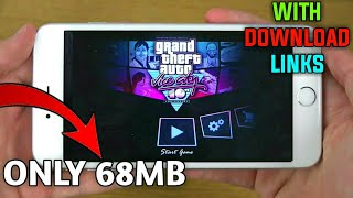 (68MB)Download GTA Vice City Lite On Android Phone Only 68mb For All Gpu The Gaming Support