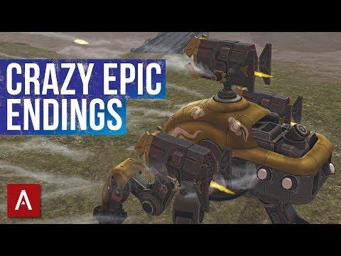 CRAZY INSANE GAMES! / EPIC Champion League Clan Battles / War Robots Gameplay