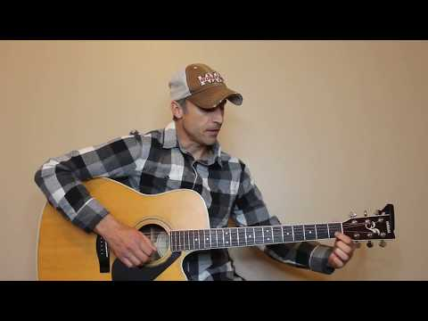 You Broke Up With Me - Walker Hayes - Guitar Lesson | Tutorial