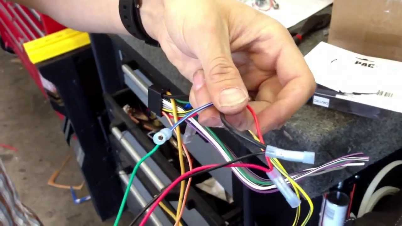 Pacific Accessory Corp Pac Tr7 Video In Motion Bypass Wiring For Alpine Navigation Head Unit