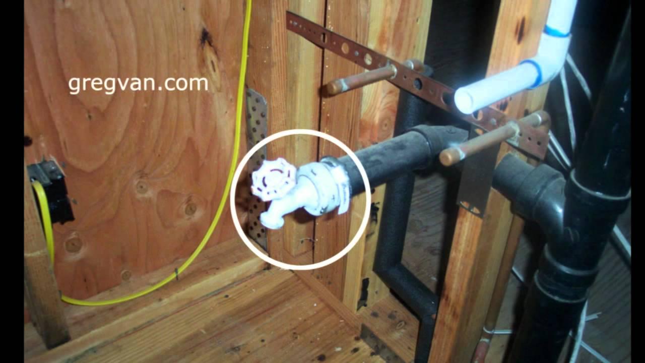 For Floor Furnace Wiring Diagram Plumbing Waste Water Testing Valve Home Building Youtube