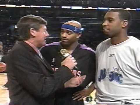 T-Mac and Vince Carter 2004 All-Star game Interview