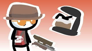 Stick Fortress 2: Sniper's Coffee (TF2 Animation)