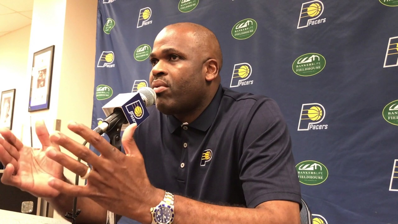 Nate McMillan on what T J Leaf brings to the Pacers