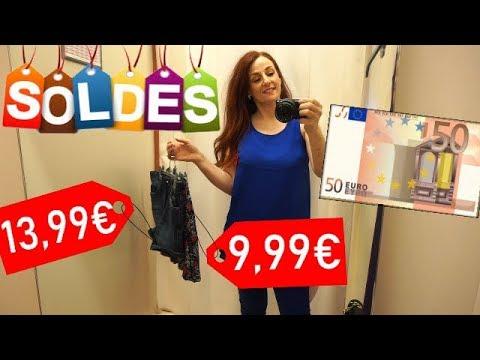 DÉFI SHOPPING AVEC 50€ DE BUDGET DANS 5 MAGASINS !!