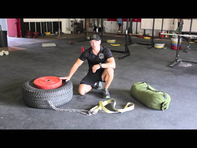 Unconventional Training Tools Diy Tire And Drag Harnesses Its