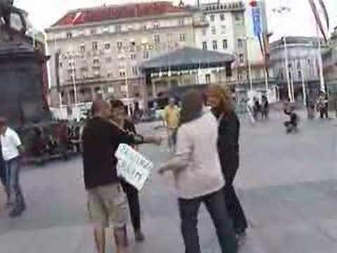 FREE HUGS ZAGREB 2007 Part 2